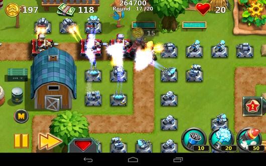 Дополнительные орудия - Little Commander 2 для Android