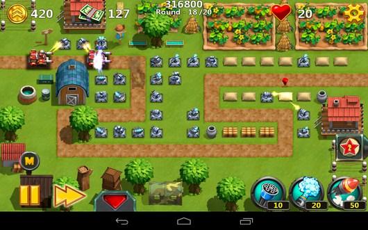 Изменение масштаба - Little Commander 2 для Android