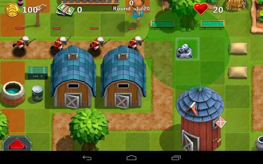 Начало боя - Little Commander 2 для Android