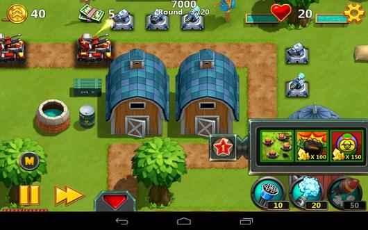 РАсстрел танка - Little Commander 2 для Android