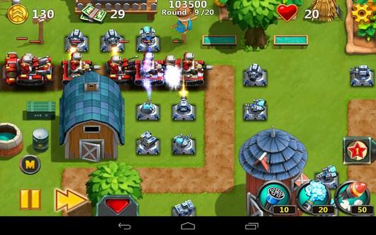 Мощный натиск - Little Commander 2 для Android