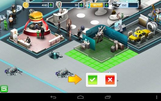 Расположение комнаты - Men In Black 3 для Android