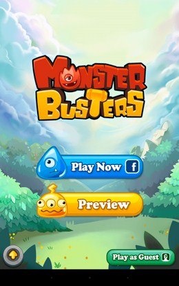 Головоломка Monster Busters для Android