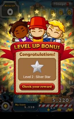Бонус за повышение уровня - Monster Busters для Android