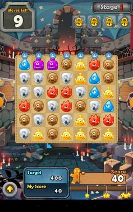 Игровое поле - Monster Busters для Android