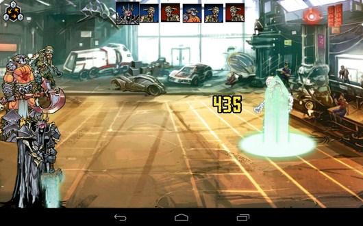 Магическая атака - Mutants: Genetic Gladiators для Android