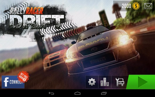 Гонки ралли Rally Racer Drift для Android