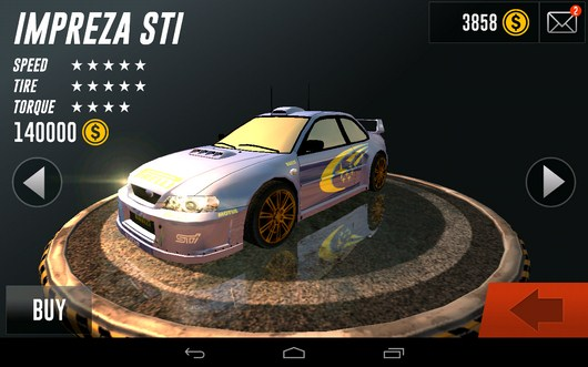 Машины - Rally Racer Drift для Android