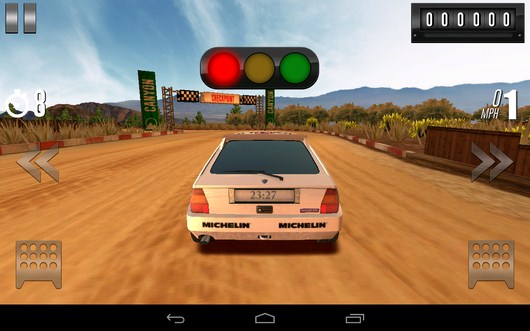 Старт - Rally Racer Drift для Android