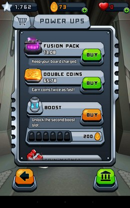 Бонусы - Roost Riders для Android