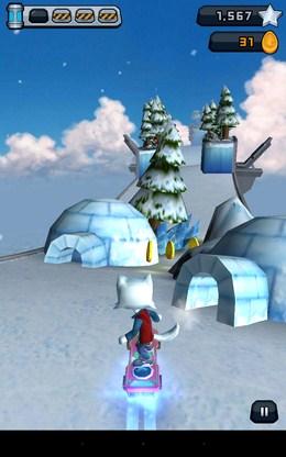Зимняя локация - Roost Riders для Android