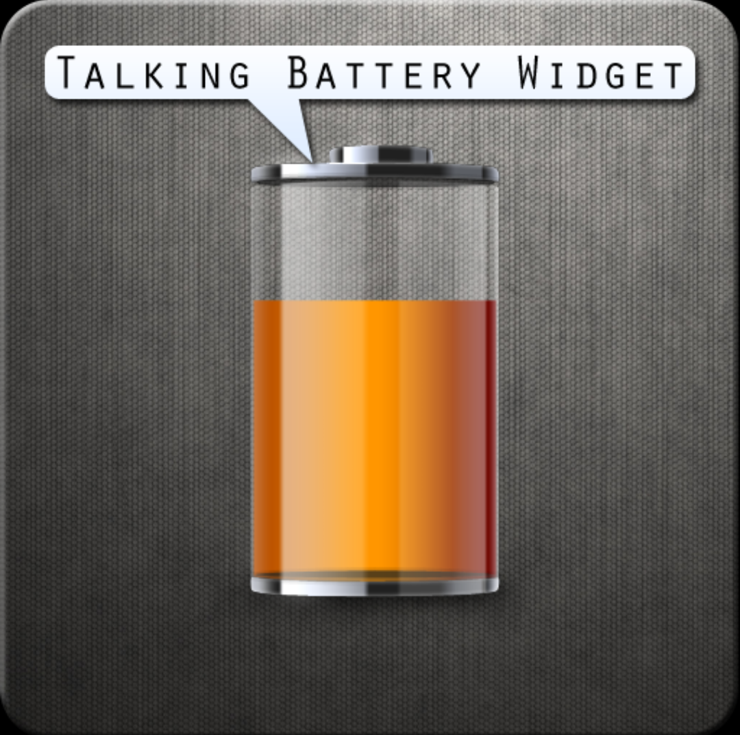 Иконка - Talking Battery Widget для Android