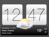 Иконка - Sense V2 Flip Clock & Weather для Android