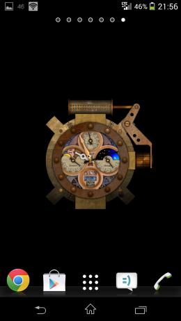 Аналоговые часыSteampunk Watch Wallpaper