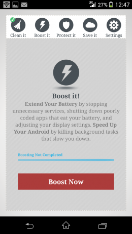 Ускорение - Memory Cleaner & Speed Booster для Android