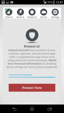 Защита от вирусов - Memory Cleaner & Speed Booster для Android