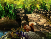 Лес - Fantasy Forest 3D для Android для Android