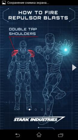 Инструкция - Iron Man 3 LWP для Android