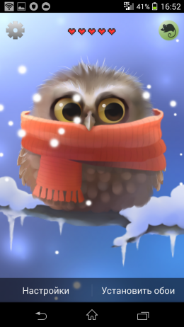 Обои - Little Owl для Android