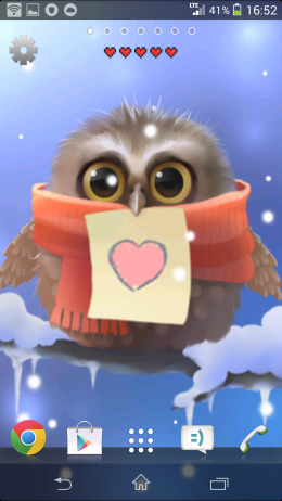 Стикер - Little Owl для Android