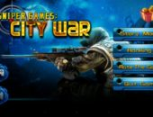 Экшн Sniper Games: City War для Android