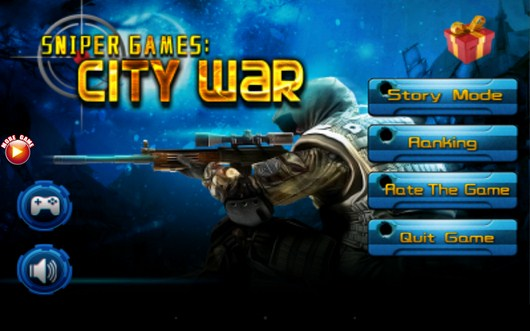 Экшн Sniper Games: City War для Android