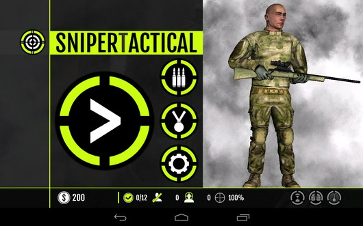 Шутре Sniper Tactical для Android