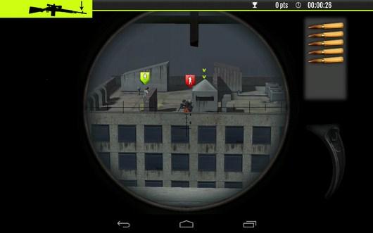 Поиск цели - Sniper Tactical для Android