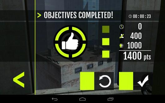 Миссия пройдена - Sniper Tactical для Android
