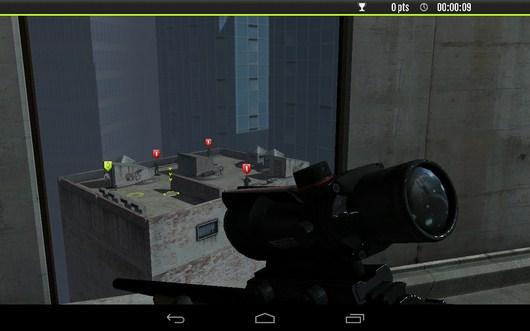 Осмотр позиции - Sniper Tactical для Android