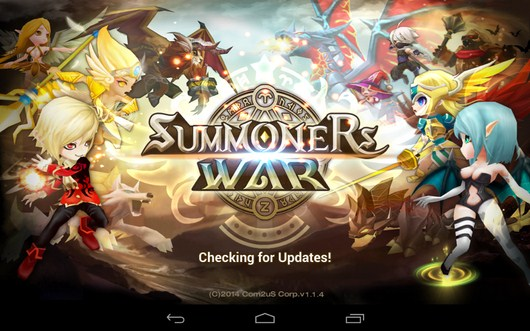 РПГ игра Summoners War для Android