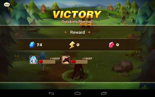 Победа - Summoners War для Android