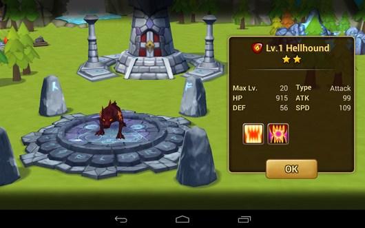 Создание монстра - Summoners War для Android
