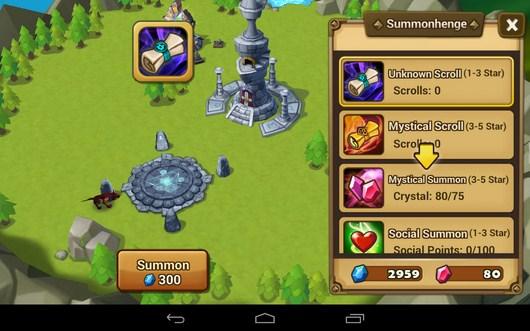 Свитки - Summoners War для Android