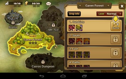Мир - Summoners War для Android