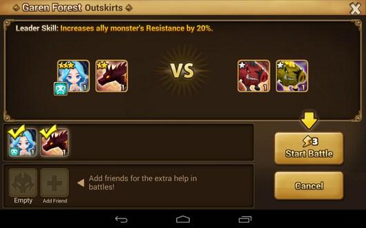 Противники - Summoners War для Android