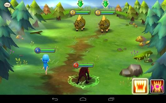 Начало боя - Summoners War для Android