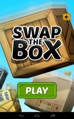 Головоломка Swap The Box для Android