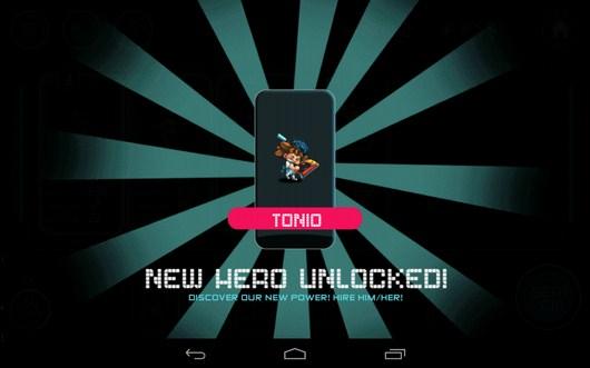 Новый герой - Tiny Busters для Android