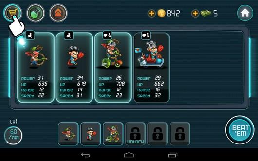 Герои - Tiny Busters для Android