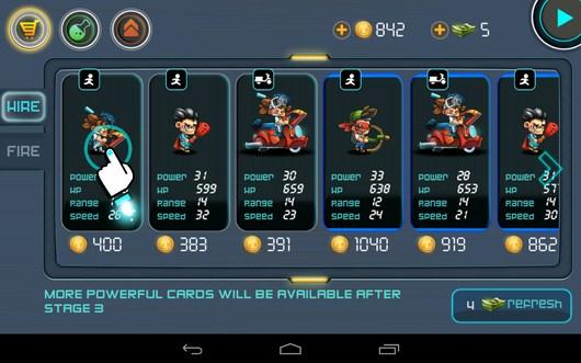 Новые бойцы - Tiny Busters для Android