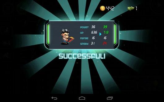Герой улучшен - Tiny Busters для Android