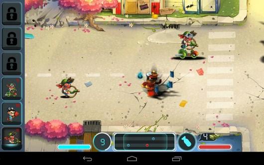 Начало поединка - Tiny Busters для Android