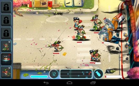 Жестокий бой - Tiny Busters для Android