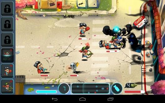 Супер удары - Tiny Busters для Android