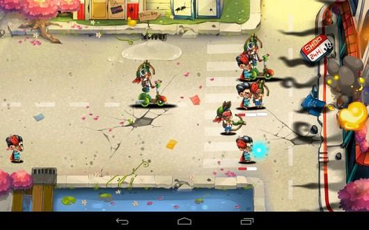 Атака базы противника - Tiny Busters для Android