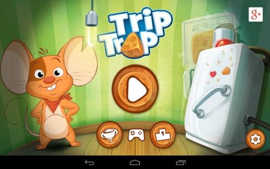 Головоломка с мышонокм и сыром Trip Trap для Android