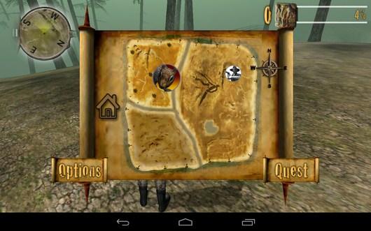 Белка на карте - Trophy Hunt для Android