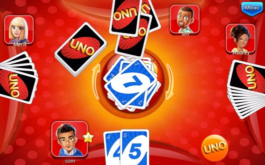 Соперник дкмает - UNO & Friends для Android