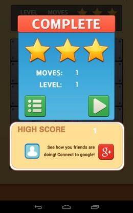 Результат - Unroll Ball для Android